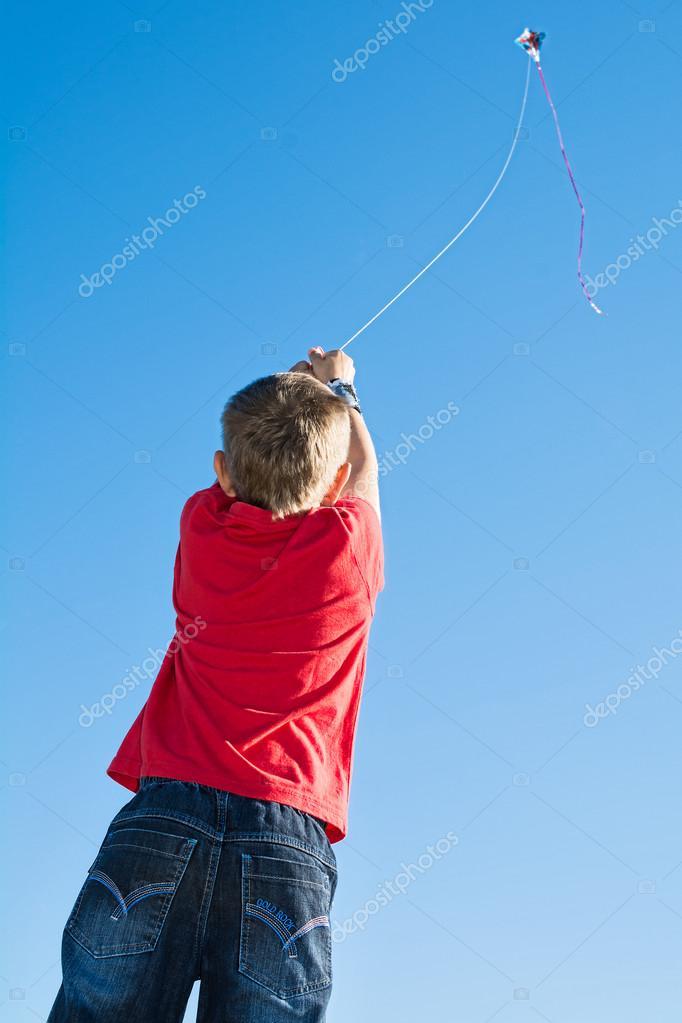 Flying kite 10