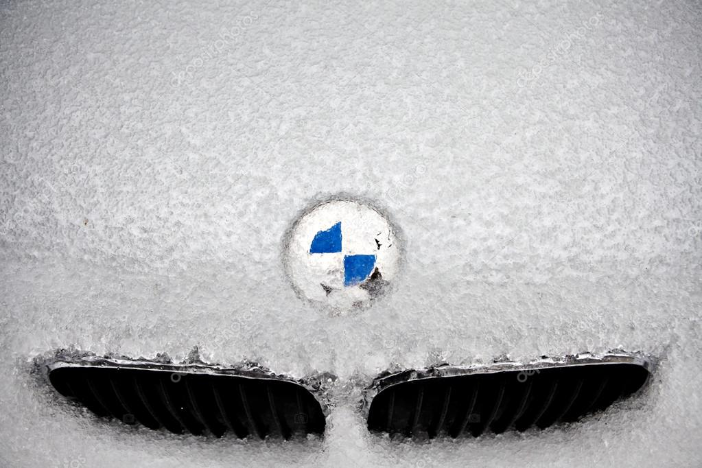 Frozen BMW logo