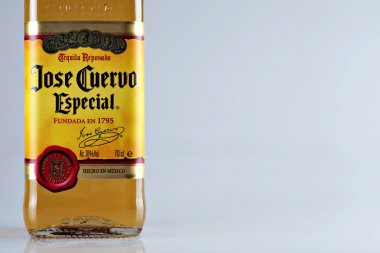 Jose Cuervo tequila bottle