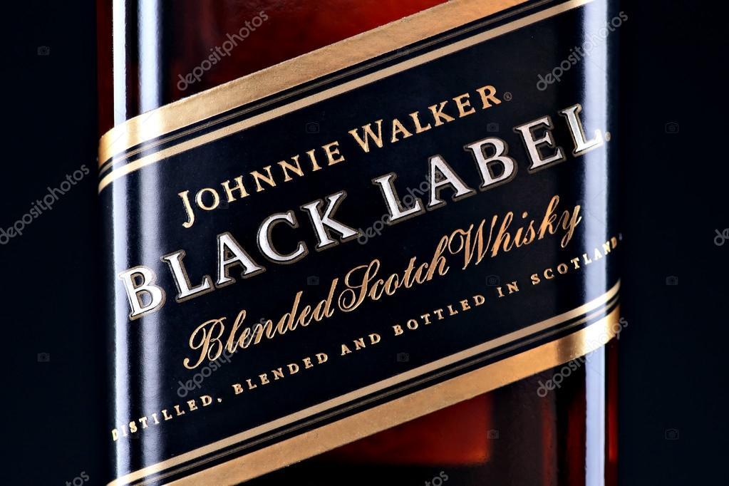 Johnnie Walker Black Label Whiskey Stock Editorial Photo Bizoon
