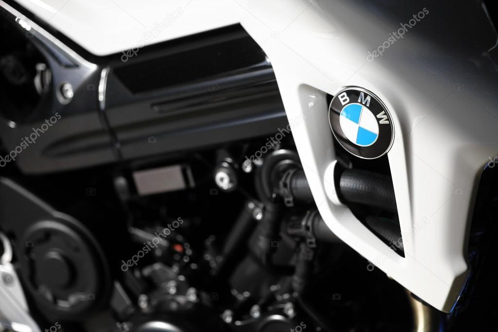 BMW motorcycle tank