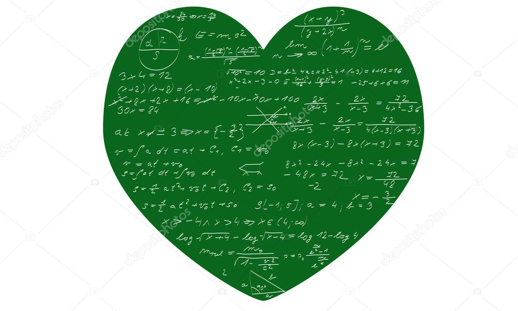 Mathematics heart