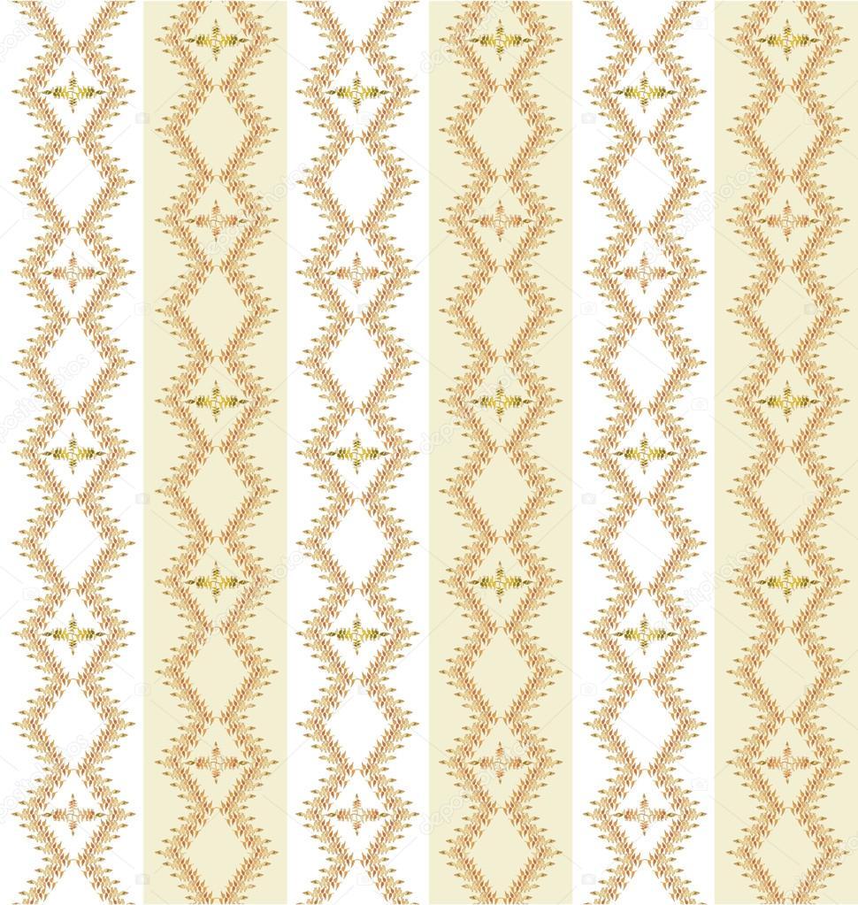 patrones sin fisuras de ornamento de motivos florales, líneas suaves ...