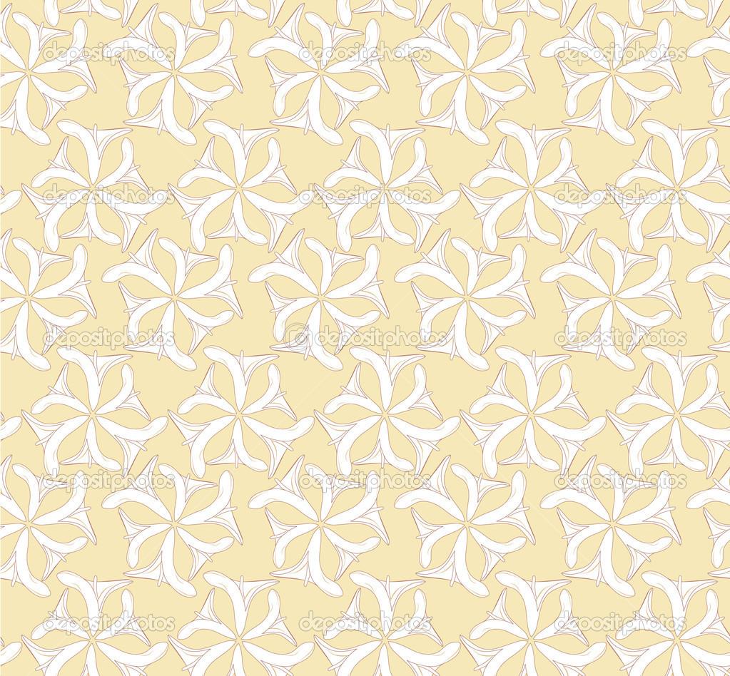 patrones sin fisuras con motivo del ramo de flores sobre fondo beige ...