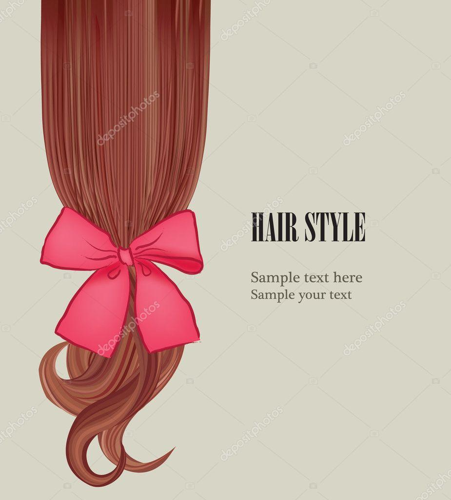 hair style template hairstyle design vector illustration hair