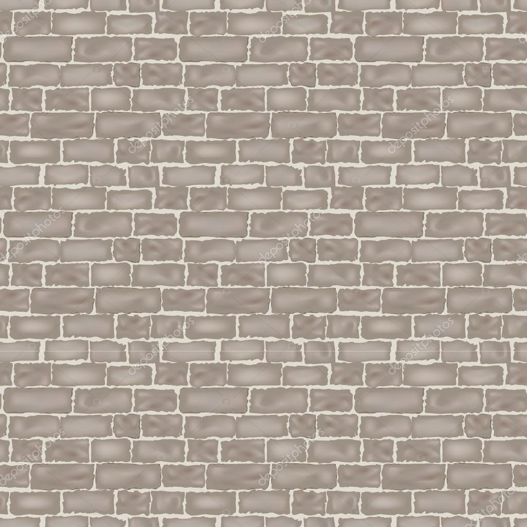 Brick Vector Picture Brick Veneers: Brick Wall Texture. Seamless Vector Background.