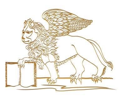Winged Lion, St. Mark symbol, Venice