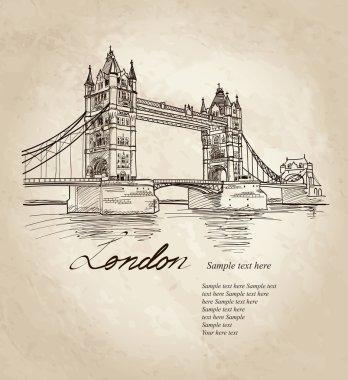 Bridge in the evening, London, England, UK, Europe.