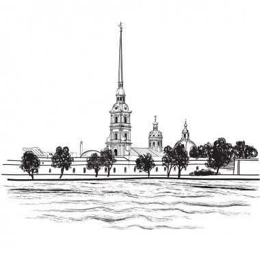 St.-Petersburg landmark Peter and Paul Cathedral