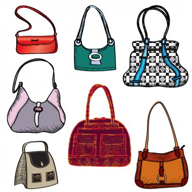 Handbags. Fashion bag set