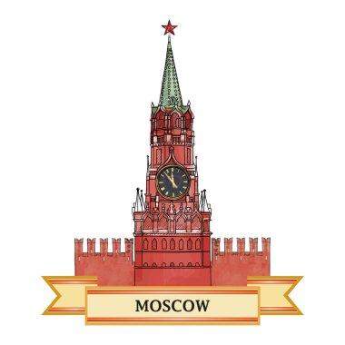 Moscow Kremlin symbol
