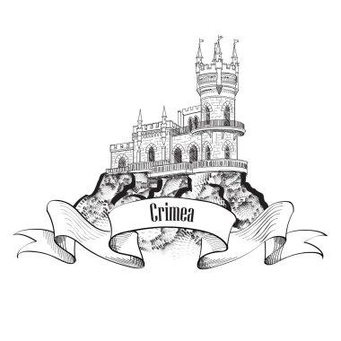 Crimea landmark symbol.