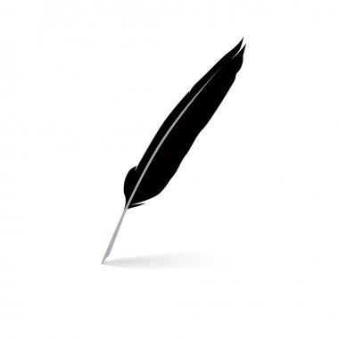Pen feather icon
