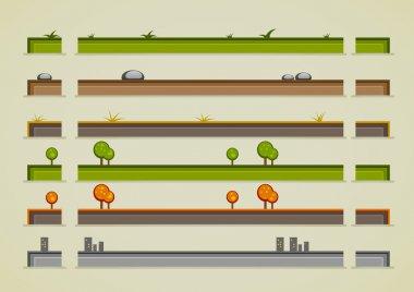 Different ground sprites