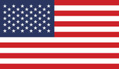 Fotografie Flag of United States