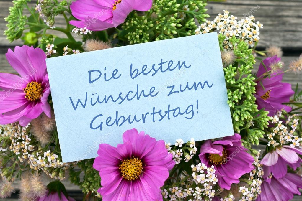 německé přání k narozeninám přání k narozeninám — Stock Fotografie © coramueller #30448269 německé přání k narozeninám