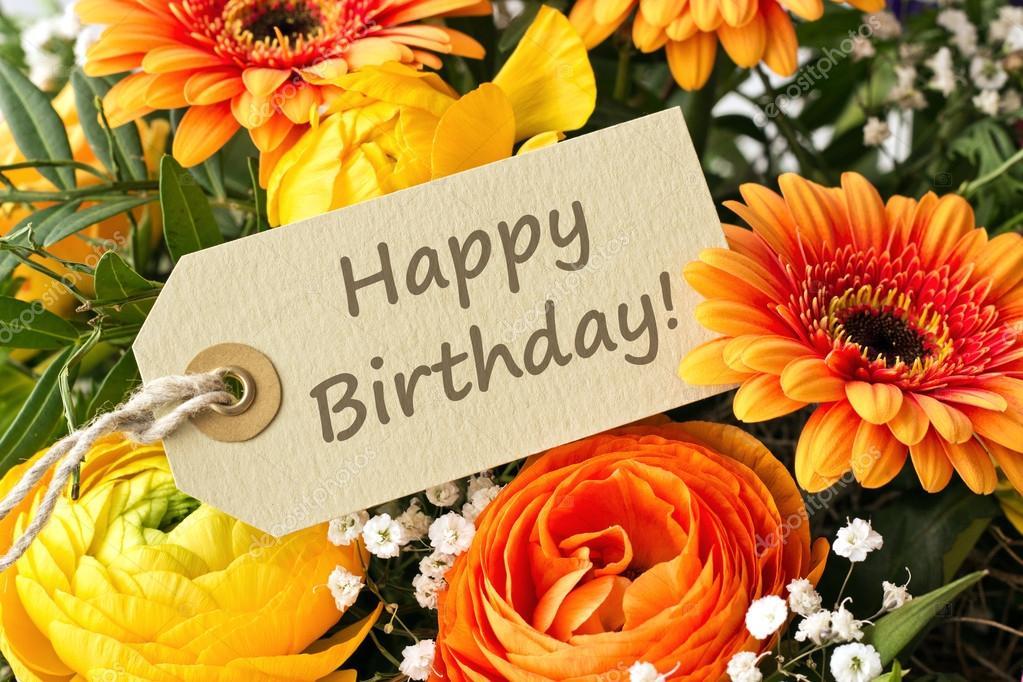 Картинки с днем рождения цветы герберы 141