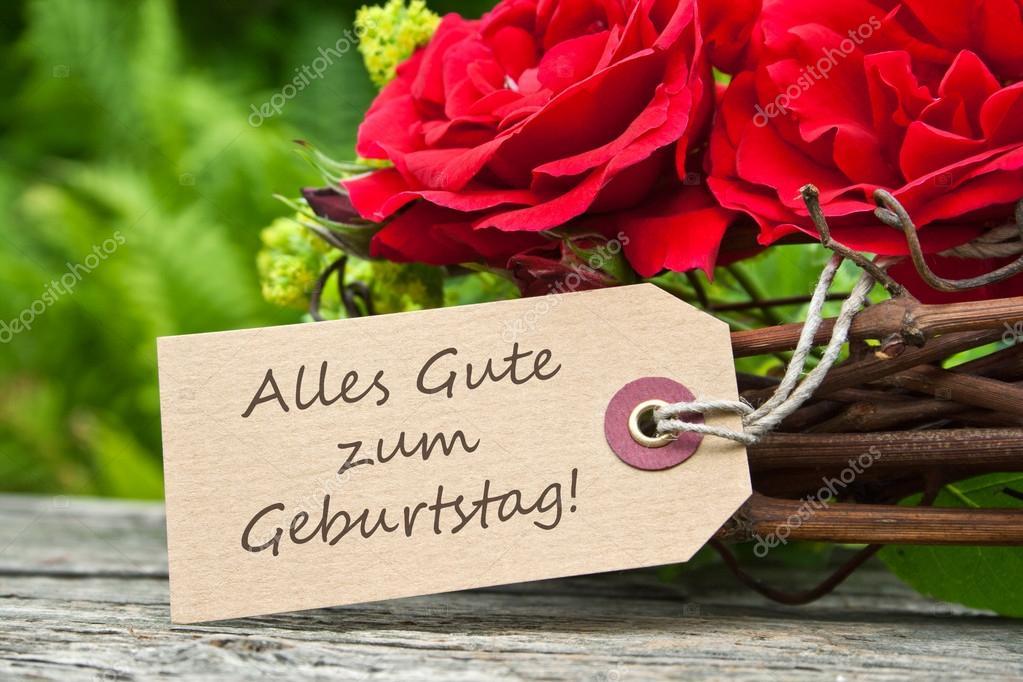 blahopřání k narozeninám v němčině přání k narozeninám — Stock Fotografie © coramueller #44207243 blahopřání k narozeninám v němčině