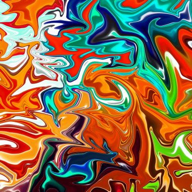 art abstract colorful square background