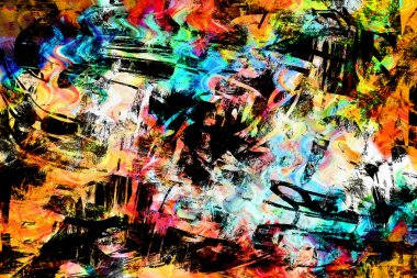 art abstract colorful vibrant paint background
