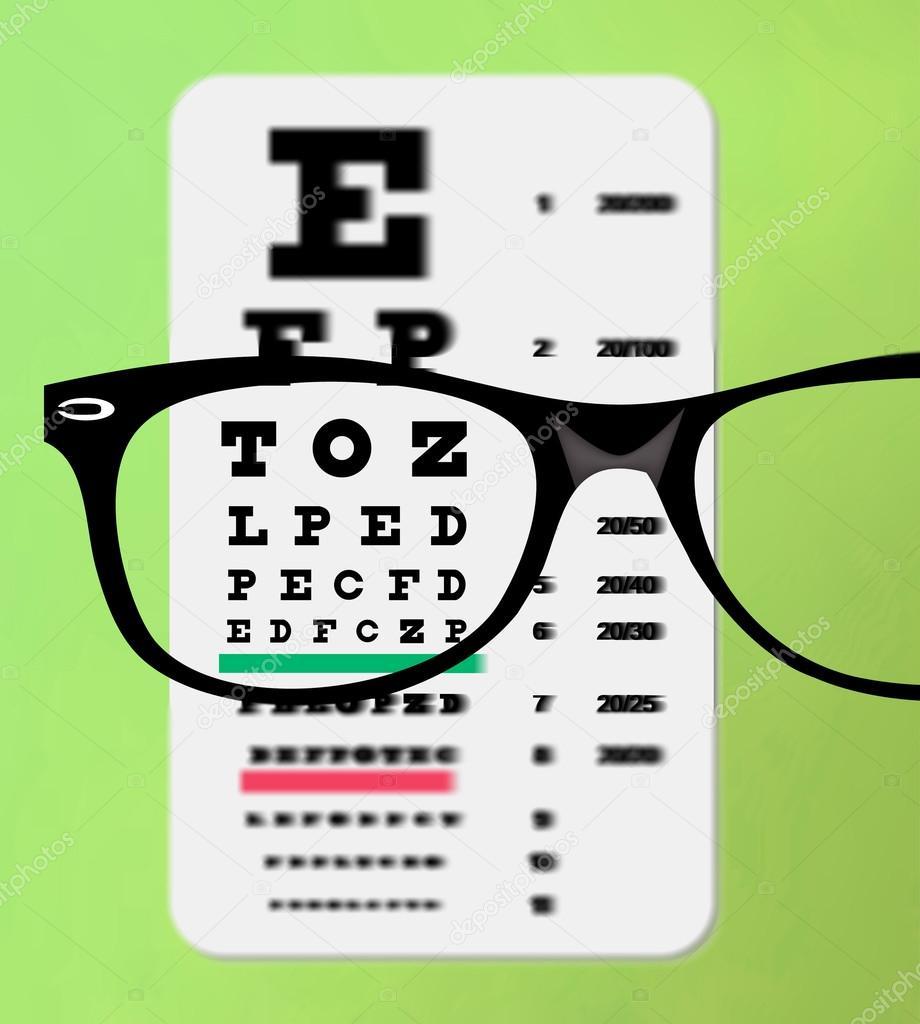 Eyeglasses over snellen eye chart stock photo xprmntl 19745321 eyeglasses over snellen eye chart stock photo geenschuldenfo Choice Image