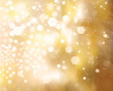 Glitter golden background