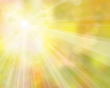 Vector of sunshine background.