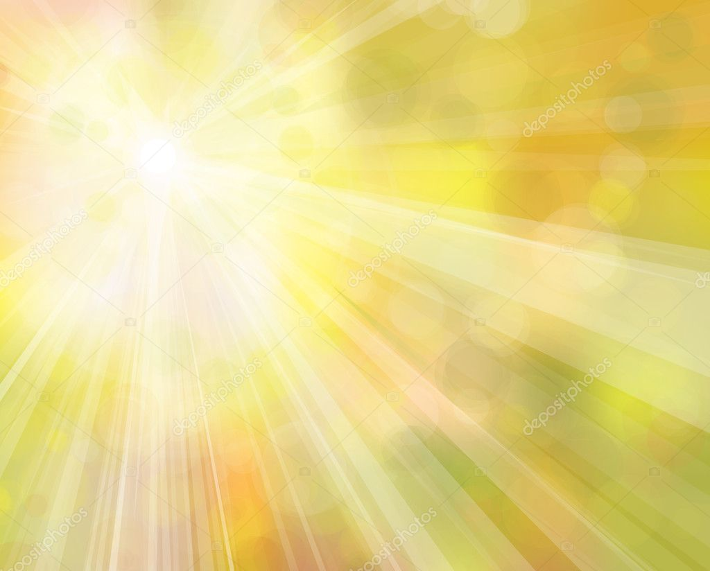 Vector of sunshine background.
