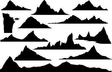 Mountains for design.