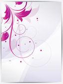abstraktní květinové pozadí pro design víří