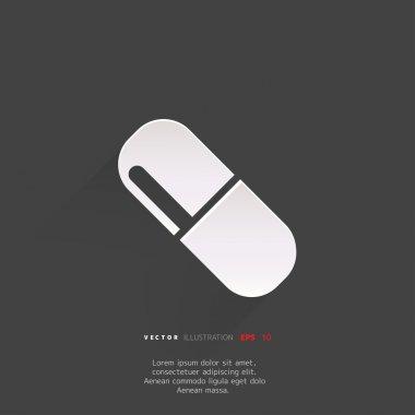 Medical pills icon