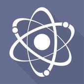 Photo Molecule, atom icon