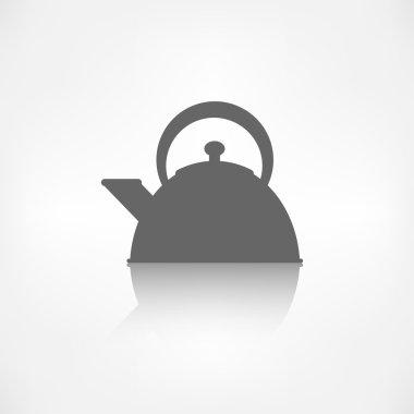 Teapot icon. coffee pot symbol