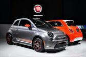 Fiat 500 - la auto show 11-30-2012 - výstaviště - los angeles