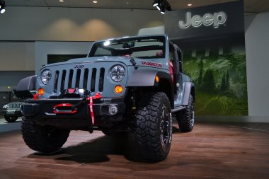 Jeep Rubicon - LA Auto Show 11-30-2012 - Convention Center - Los Angeles
