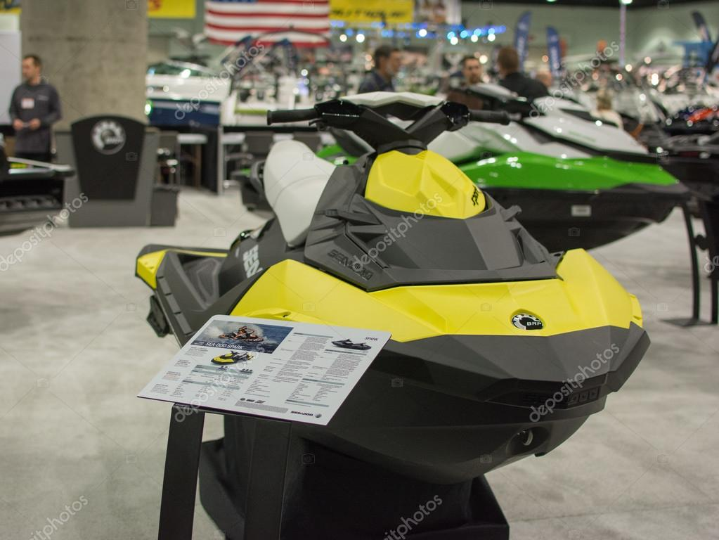 Jet Ski On Display At The Los Angeles Boat Show On February