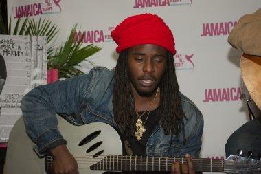 Daniel Bambaata Marley singer is the grandson of Bob Marley and