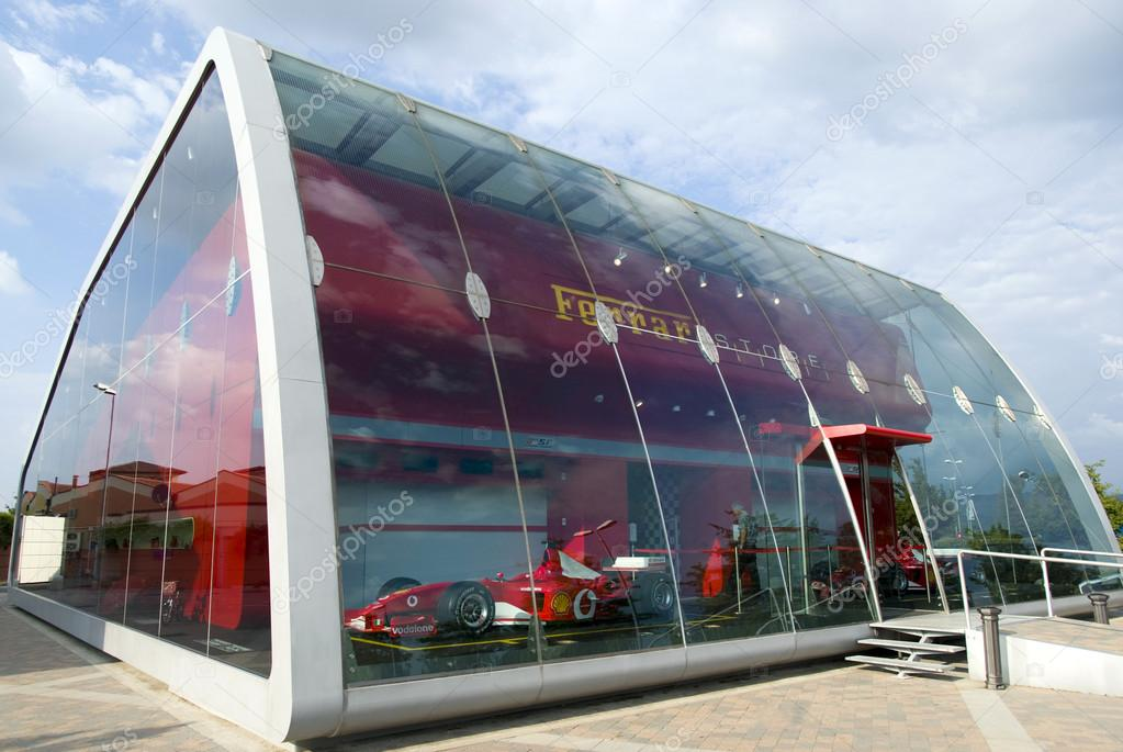 Elegant This Sophisticated Ferrari Factory Store In Serravalle Scrivia Was Designed  By Iosa Ghini Associates. This Gallery Is Located In The Neighbourhood Of  ...