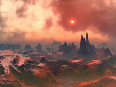 Forgotten Alien World