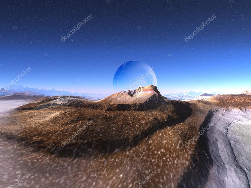 Rock Formation in Shape of Alien Face