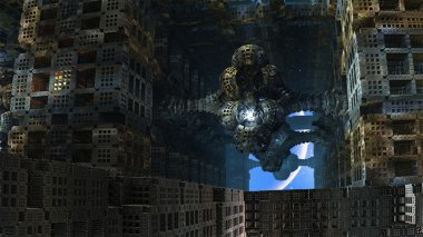 Last Inhabitant of Abandoned Alien City