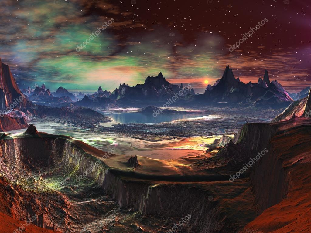 Alien Landscape - Firewalk Canyon