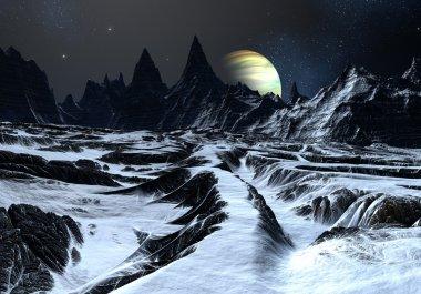 Road Across an Alien Landscape