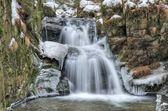Winterwasserfall