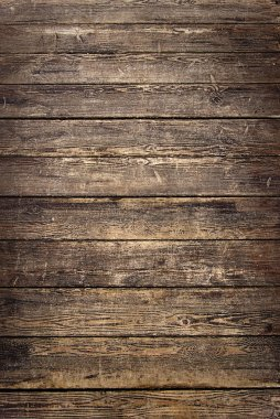 Background of old worn wooden planks