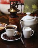 Fényképek kávé összetétele