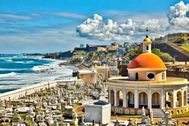Cemetery at Old San Juan