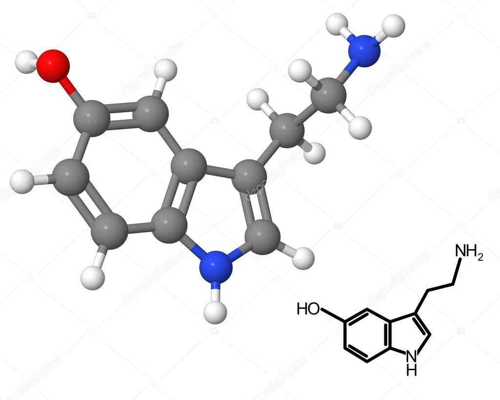 Resultado de imagen para serotonina