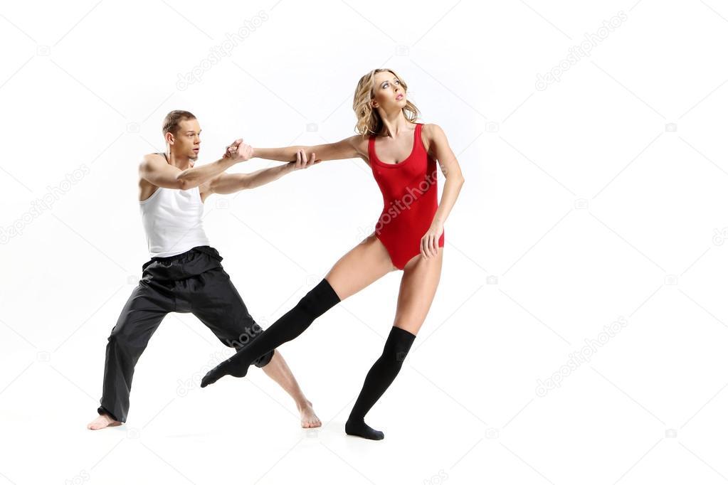 20025a1bfc6 страстный танец двух человек — Стоковое фото © robertprzybysz  35962853