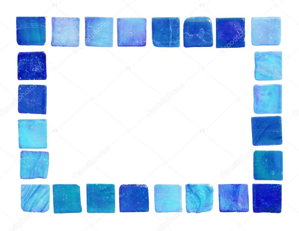 marco de baldosas de cerámica — Foto de stock © vividpixels #19044287